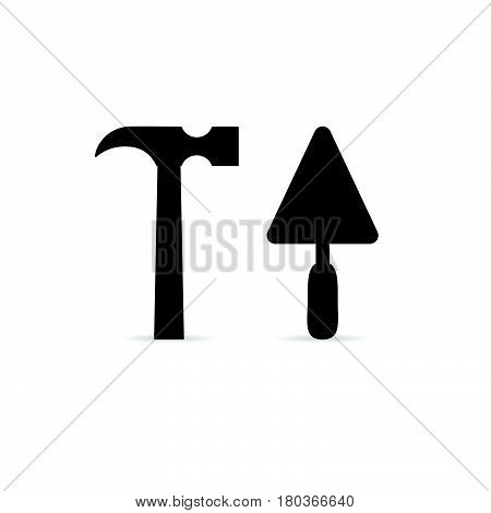 Tool Icon In Black Color Illustration