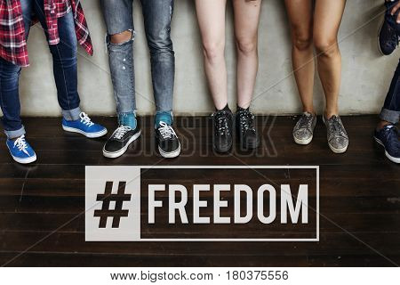 Freedom Positivity Hipster Music Hipster