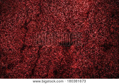 Concrete, concrete wall, concrete background, concrete texture. Colored concrete. Red concrete.