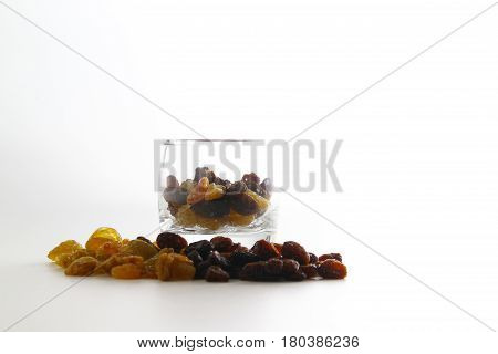A raisin is a dried grape. Raisins are produced in many regions of the world and may be eaten raw or used in cooking, baking, and brewing.