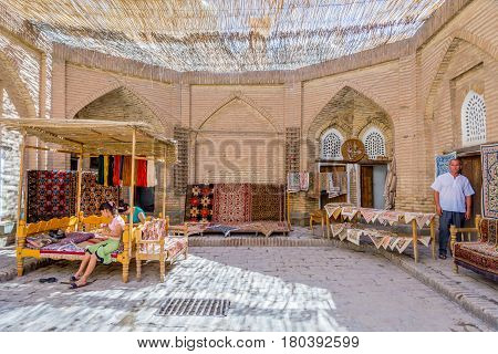 Carpet Shop And Workshop, Khiva
