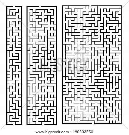 Trendy Rectangular Labyrinth Set