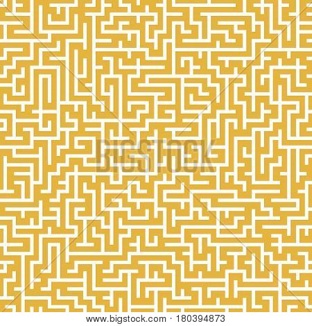 Close-up Look At Complex Square Maze