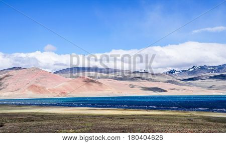 Beautiful Tibet scenery in china-This is from Gyaca County to Le Pu ditch road scenery.