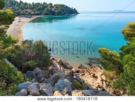 Kaviou Beach, Sithonia, Greece.