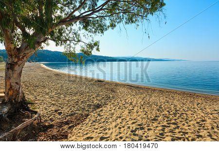Kastri Beach, Halkidiki, Greece.