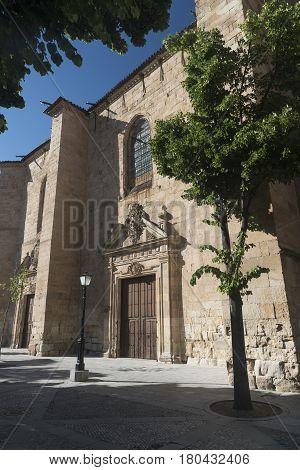 Salamanca (Castilla y Leon Spain): exterior of the historic church known as Convento de la Anunciacion
