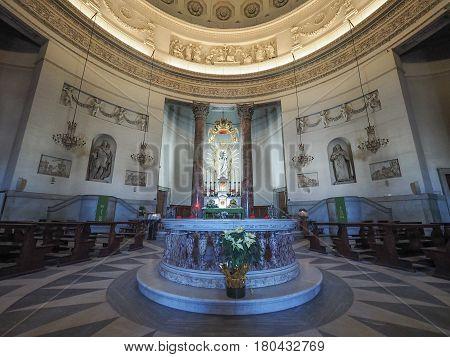 Gran Madre Church In Turin