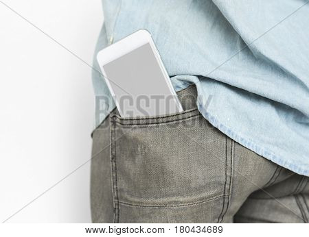 Mobile Phone Pocket Copy Space Communication Technology