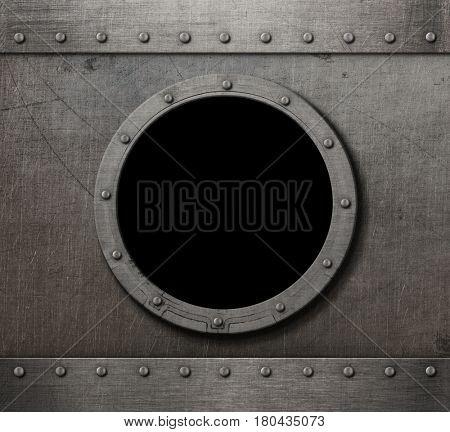 submarine porthole steam punk background