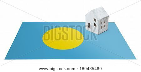 Small House On A Flag - Palau