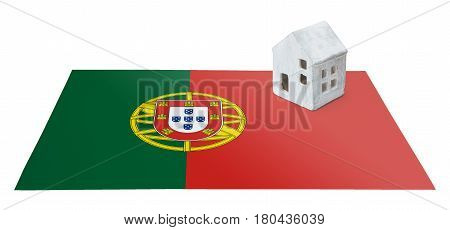 Small House On A Flag - Portugal
