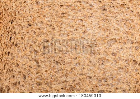 Whole Grain Sandwich Bread Slice Texture/ Background.