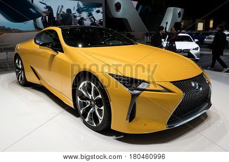 2018 Lexus Lc-500 Luxury Coupe Hybrid Car