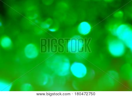 Bright green glimmer glitter dotted festive background