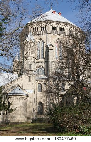 Romanesque church St. Gereon, Cologne, Germany, Europe