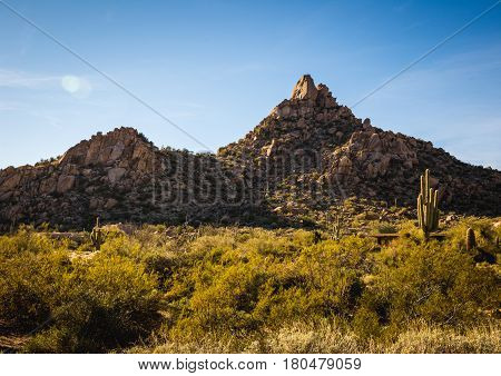 Pinnacle Peak In Scottsdale, Arizona