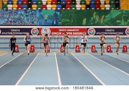 Indoor Athletics Record Attempt Races
