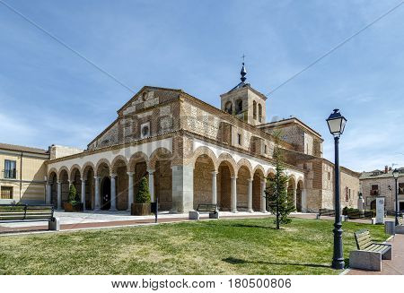 Santa Maria Church in Olmedo Valladolid Spain
