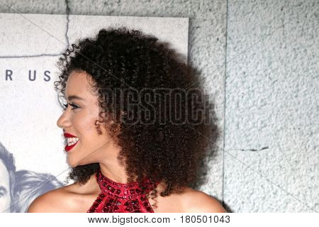 LOS ANGELES - APR 4:  Jasmin Savoy Brown at the Premiere Of HBO's