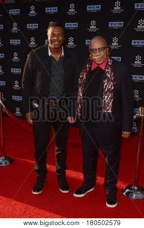 LOS ANGELES - APR 6:  Chris Tucker, Quincy Jones at the 2017 TCM Classic Film Festival Opening Night Red Carpet at the TCL Chinese Theater IMAX on April 6, 2017 in Los Angeles, CA
