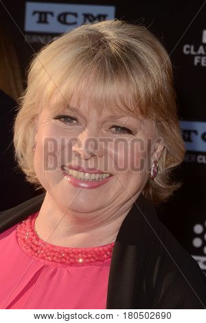 LOS ANGELES - APR 6:  Julie Dawn Cole at the 2017 TCM Classic Film Festival Opening Night Red Carpet at the TCL Chinese Theater IMAX on April 6, 2017 in Los Angeles, CA