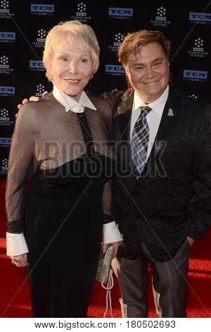 LOS ANGELES - APR 6:  Joan Benedict Steiger, Guest at the 2017 TCM Classic Film Festival Opening Night Red Carpet at the TCL Chinese Theater IMAX on April 6, 2017 in Los Angeles, CA