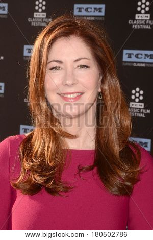 LOS ANGELES - APR 6:  Dana Delany at the 2017 TCM Classic Film Festival Opening Night Red Carpet at the TCL Chinese Theater IMAX on April 6, 2017 in Los Angeles, CA