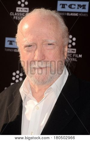 LOS ANGELES - APR 6:  Scott Wilson at the 2017 TCM Classic Film Festival Opening Night Red Carpet at the TCL Chinese Theater IMAX on April 6, 2017 in Los Angeles, CA