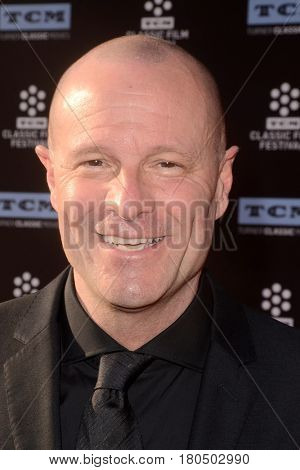 LOS ANGELES - APR 6:  Pierre Simenon at the 2017 TCM Classic Film Festival Opening Night Red Carpet at the TCL Chinese Theater IMAX on April 6, 2017 in Los Angeles, CA