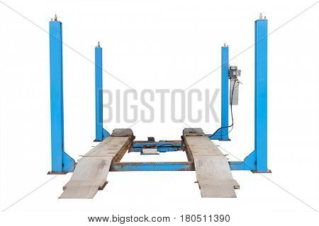 Lift isolated under the white background