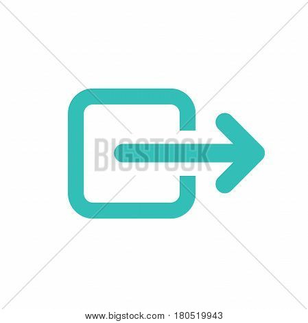 External link icon with arrow and box