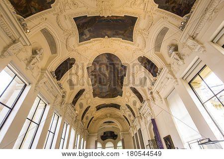 The Petit Palais, Paris, France