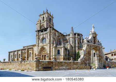 Iglesia de Santa Maria la Real Sasamon Spain UNESCO - the Pilgrim's Road to Santiago de Compostela