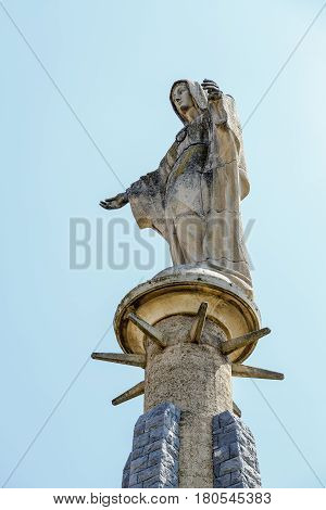 Monument to the Heart of Mary Tudela Navarra Spain
