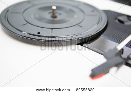 Turntable Platter Disc For Vinyl Record With Music
