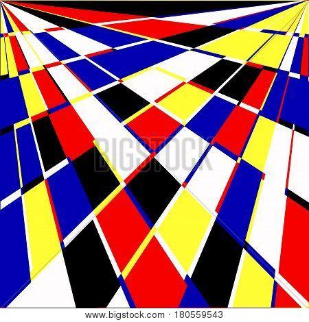 Geometric Background. Vector Illustration