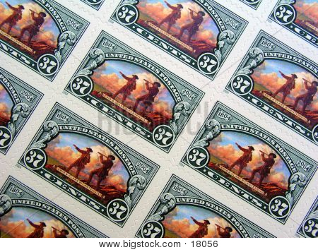 Centenial Stamps