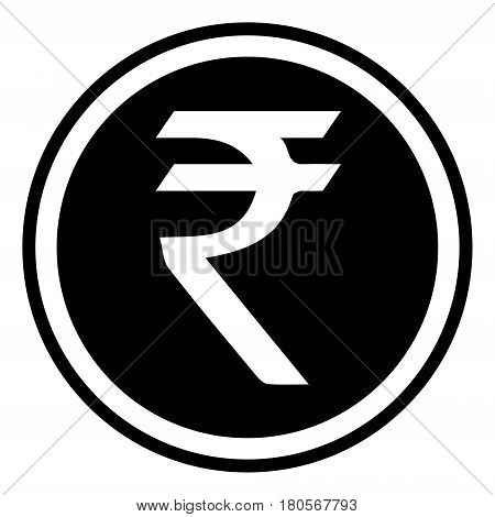 currency symbol India Indian rupee vector rupee sign INR