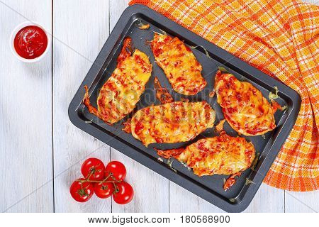 Delicious Grilled In Oven Chicken Breasts