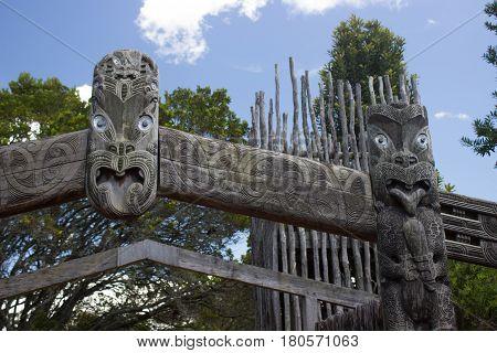 Maori Traditional Carving