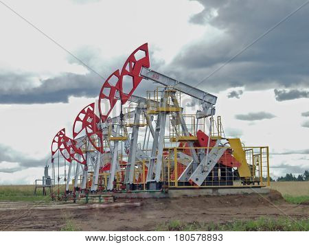 Oil Pumps Are In The Field
