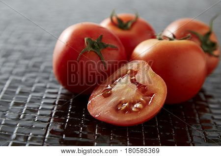Bunch Of Cherry Tomatoes