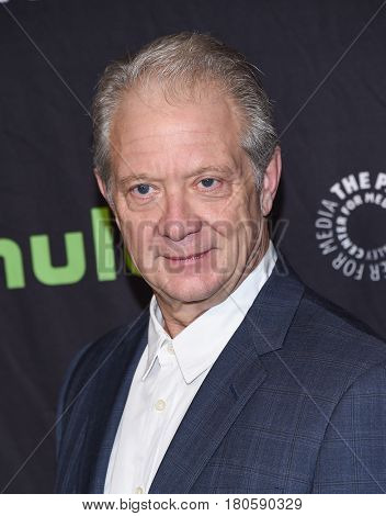 LOS ANGELES - MAR 26:  Jeff Perry arrives for the PaleyFest LA 2017-Scandal on March 26, 2017 in Hollywood, CA
