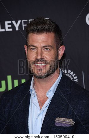 LOS ANGELES - MAR 26:  Jesse Palmer arrives for the PaleyFest LA 2017-Scandal on March 26, 2017 in Hollywood, CA
