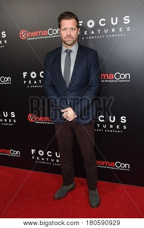 LOS ANGELES - MAR 29:  David Leitch arrives for the CinemaCon 2017-Focus Features Luncheon Celebrating 15 Years and A Bright Future on March 29, 2017 in Las Vegas, NV