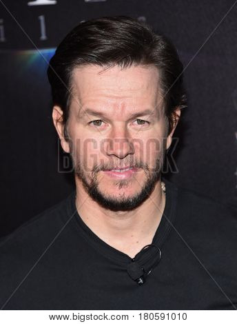 LOS ANGELES - MAR 28:  Mark Wahlberg arrives for the CinemaCon 2017-STX Films