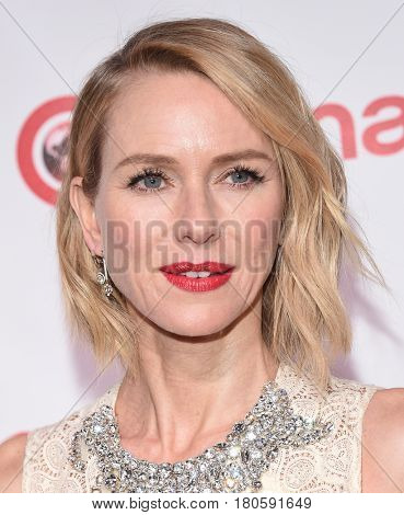 LOS ANGELES - MAR 30:  Naomi Watts arrives for the CinemaCon 2017-Awards Presentation on March 30, 2017 in Las Vegas, NV