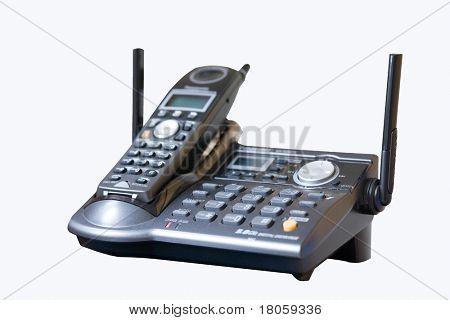 Stylish new phone, isolated on white