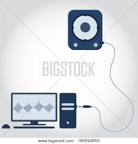 Computer And Speaker